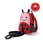 SKIP HOP Zoo Let Mini Backpack With Rein (Ladybug)