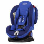 SPARCO  F2000K Convirtable Car Seat BLUE (0-25KG)