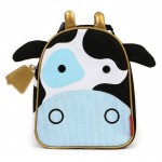 SKIP HOP Zoo Lunchie Insulated Kids Lunch Bag (Cow)