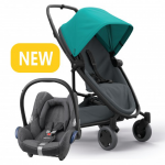 Quinny Zapp Flex Plus - Green On Graphite & Maxi-Cosi CabrioFix