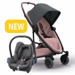 Quinny Zapp Flex Plus - Graphite On Blush & Maxi-Cosi CabrioFix