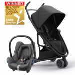 QUINNY Zapp Flex Black on Black and Maxi-Cossi CabrioFix