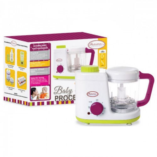 Autumnz - 2-in-1 Baby Food Processor (Steam & Blend)