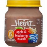 Heinz Apple & Blueberry Muesli