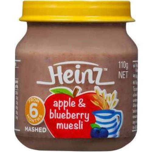 Heinz Apple & Blueberry Muesli