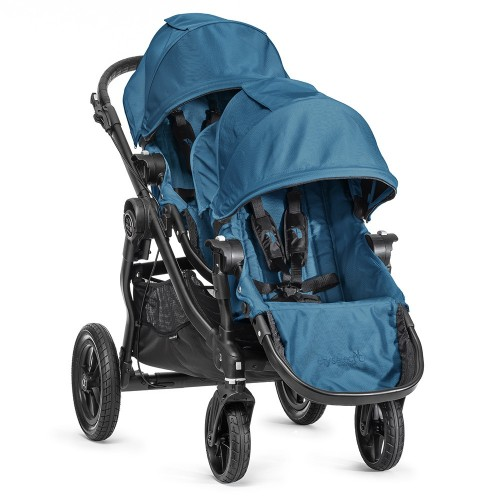 Baby Jogger City Select + 2nd Seat (Tandem stroller) - Teal