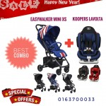 [NEW YEAR PROMO] EASYWALKER MINI XS AND KOOPERS LAVOLTA
