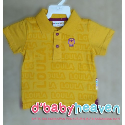 POCOYO boy shirt (Yellow)