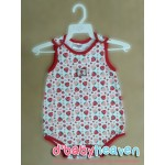 OKBB girl romper (Red)