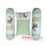 BABY BEDDING SET CLASSIC POOH (green)