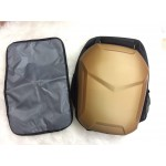 Big Hard Case Diaper Bag - Gold