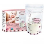 AUTUMNZ Double Zip Lock Breastmilk Storage Bag (12oz X 25 Bags)