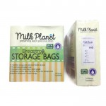MILK PLANET Double Zip Lock Storage Breastmilk 7oz x 25pcs