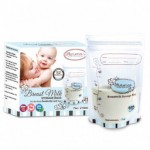 AUTUMNZ DOUBLE Zip Lock Breastmilk Storage Bag (7oz x 25 bags)