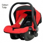 HALFORD S8 Elite Classic Infant Seat - Red Black