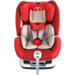 KOOPERS FLAMENCO CONVERTIBLE CAR SEAT - RED