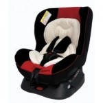 KOOPERS: STEP CONVERTIBLE CAR SEAT (red)