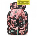 ZOOMI GROUP 123 ANTI-ESCAPE CAR SEAT - PAPER PETALS