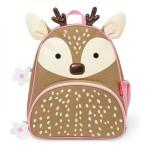 SKIP HOP Zoo Pack Little Kids Backpack (Deer)