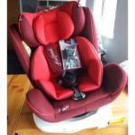 Halford Zeus XT 360 Car Seat (Red)