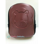 Hard Case Diaper Bag - Chocolate