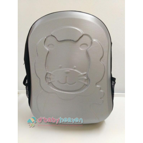 Hard Case Diapers Bag - Silver