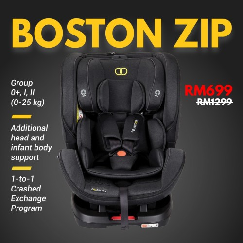 Koopers: Boston Zip Convertible Car Seat
