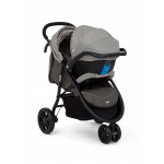 JOIE Litetrax 3 Travel System Dark Pewter