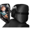 Baby Back Seat Mirror Shatterproof Acrylic Car Rearview Double Strap Wide Angle