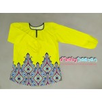 Femme's House blouse (Yellow Flame)