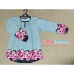 Femme's House blouse (Carolina Blue)