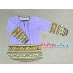 Femme's House blouse (Heather Purple)