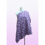 Mommy Nursing Cover (Purple Flower)