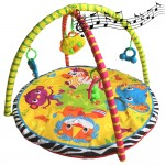 Musical Activity Gym and Play Crawling Blanket Mat Playgym
