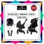 KOOPERS TAVO BASIC EDGE R + KOOPERS DANZA ( FREE ADAPTOR) + NEWBORN KIT  - PREMIUM BLACK