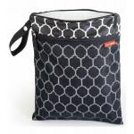 Skip Hop Grab and Go Wet and Dry Bag (Onyx Tile)