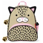 SKIP HOP Zoo Pack Little Kids Backpack (Leopard)