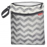 Skip Hop Grab and Go Wet and Dry Bag (Chevron)