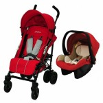 HALFORD Titania Travel System - Red