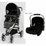HALFORD Zuzz 4 Travel System - Black