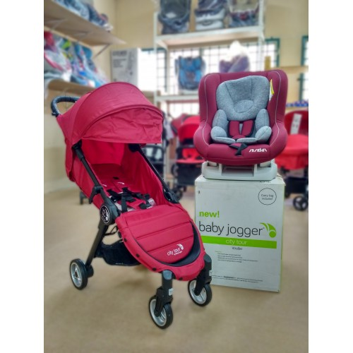 Combo Baby Jogger City Tour Snskidz Sport Red