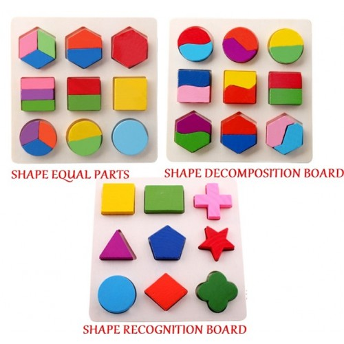 3 IN 1 SET SOLID PUZZLE